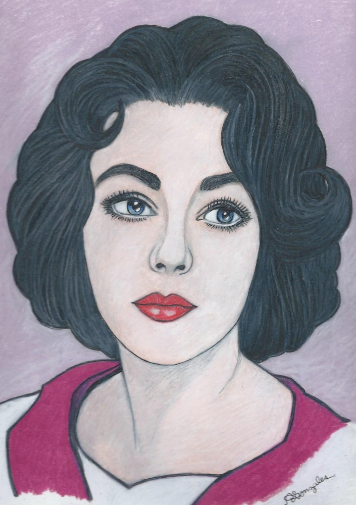 Elizabeth Taylor by aaronmark